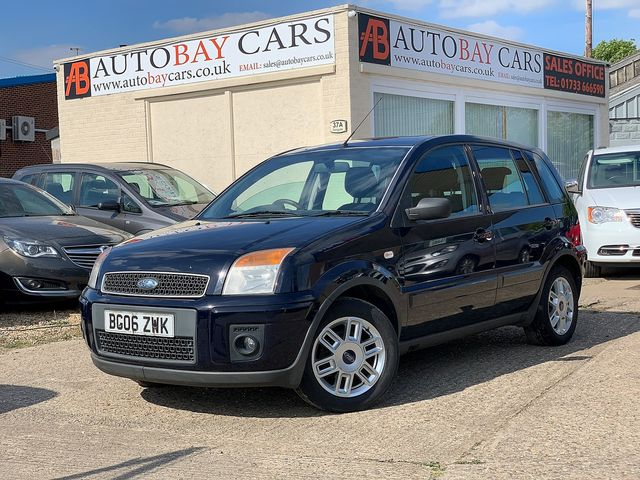 FORD Fusion 1.6 16v Zetec (2006) for sale  in Peterborough, Cambridgeshire | Autobay Cars - Picture 1