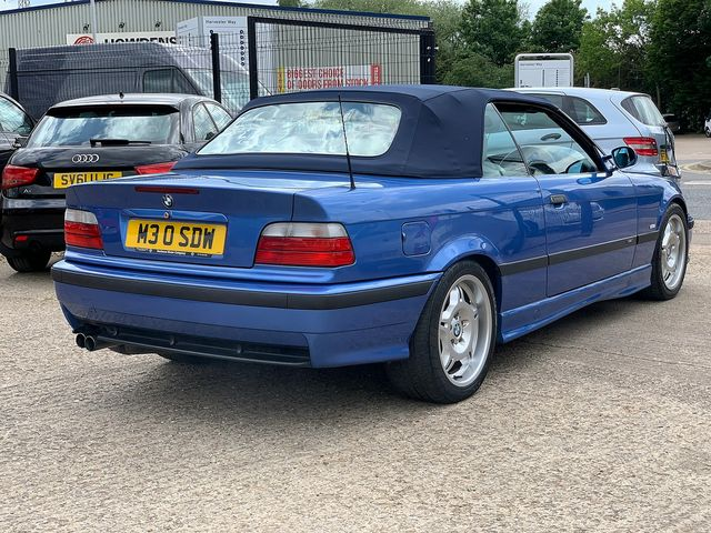 BMW Evolution Evo M3 E36 Cabriolet (1998) for sale  in Peterborough, Cambridgeshire | Autobay Cars - Picture 28