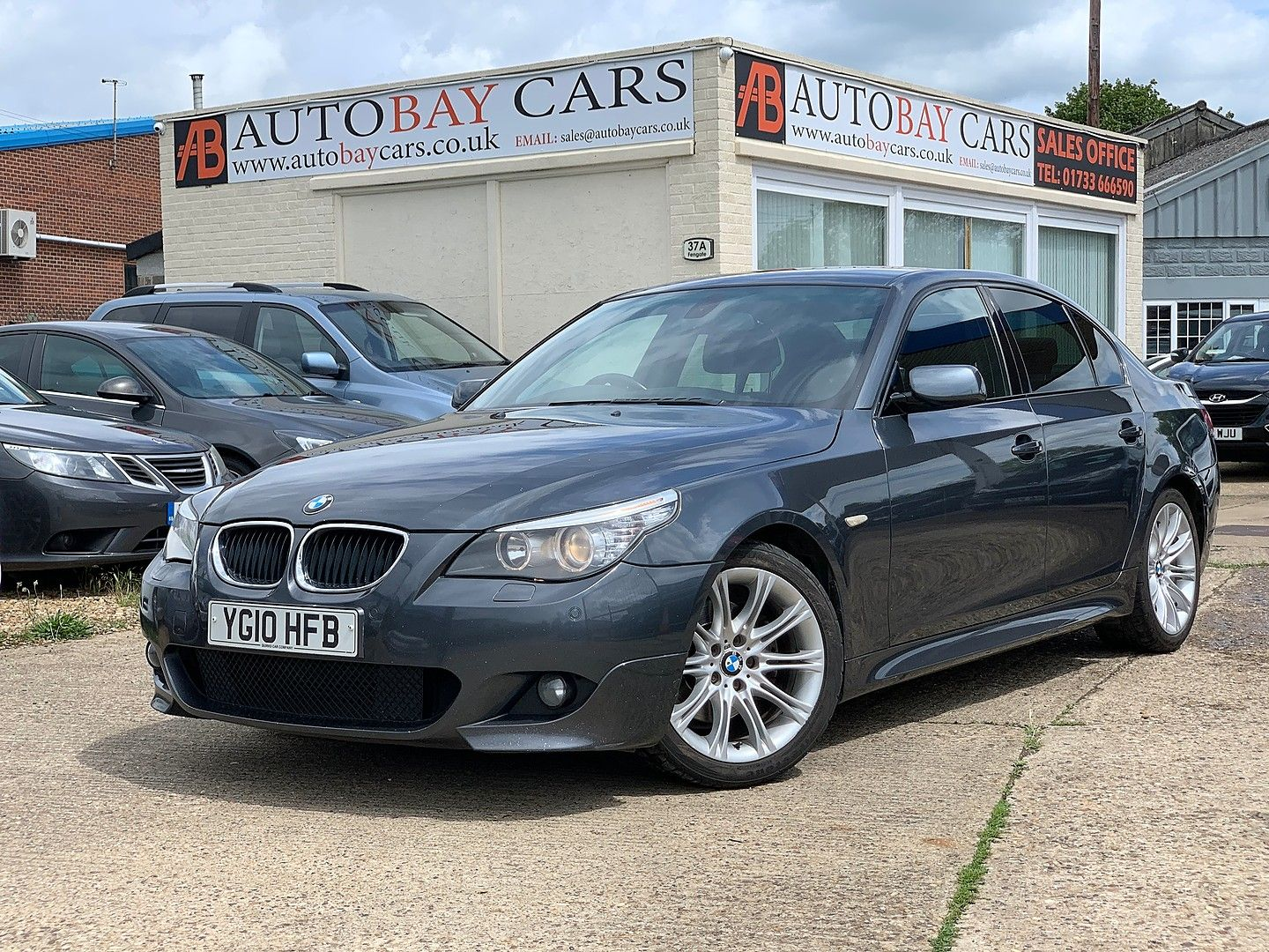 Bmw 5 Series 520d M Sport 2010 For Sale In Peterborough Cambridgeshire Autobay Cars Autobay Cars