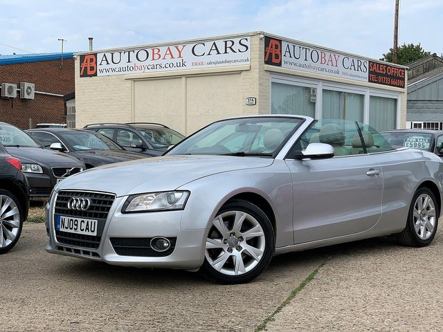AUDI A5 2.0 TFSI 211PS SE (2009) for sale  in Peterborough, Cambridgeshire | Autobay Cars - Picture 1