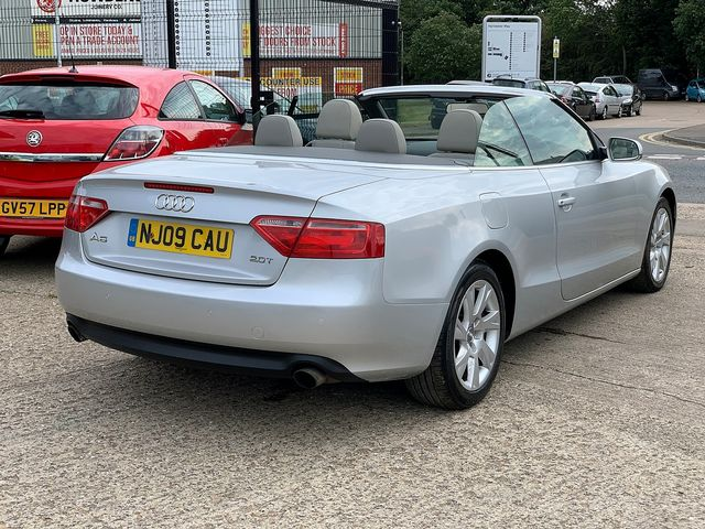 AUDI A5 2.0 TFSI 211PS SE (2009) for sale  in Peterborough, Cambridgeshire | Autobay Cars - Picture 3