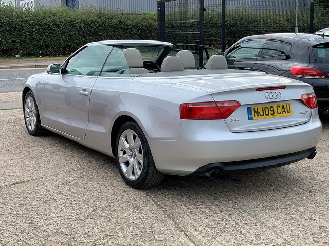 AUDI A5 2.0 TFSI 211PS SE (2009) for sale  in Peterborough, Cambridgeshire | Autobay Cars - Picture 4