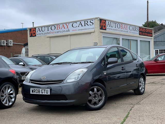 TOYOTA Prius 1.5 VVT-i Hybrid T3 (2008) for sale  in Peterborough, Cambridgeshire | Autobay Cars - Picture 1