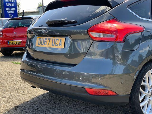 FORD Focus Titanium X 1.5 TDCi 120ps (s/s) (2017) for sale  in Peterborough, Cambridgeshire   Autobay Cars - Picture 6