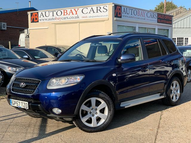 HYUNDAI Santa Fe 2.2 CRTD CDX 7 Seat (2008) for sale  in Peterborough, Cambridgeshire | Autobay Cars - Picture 1