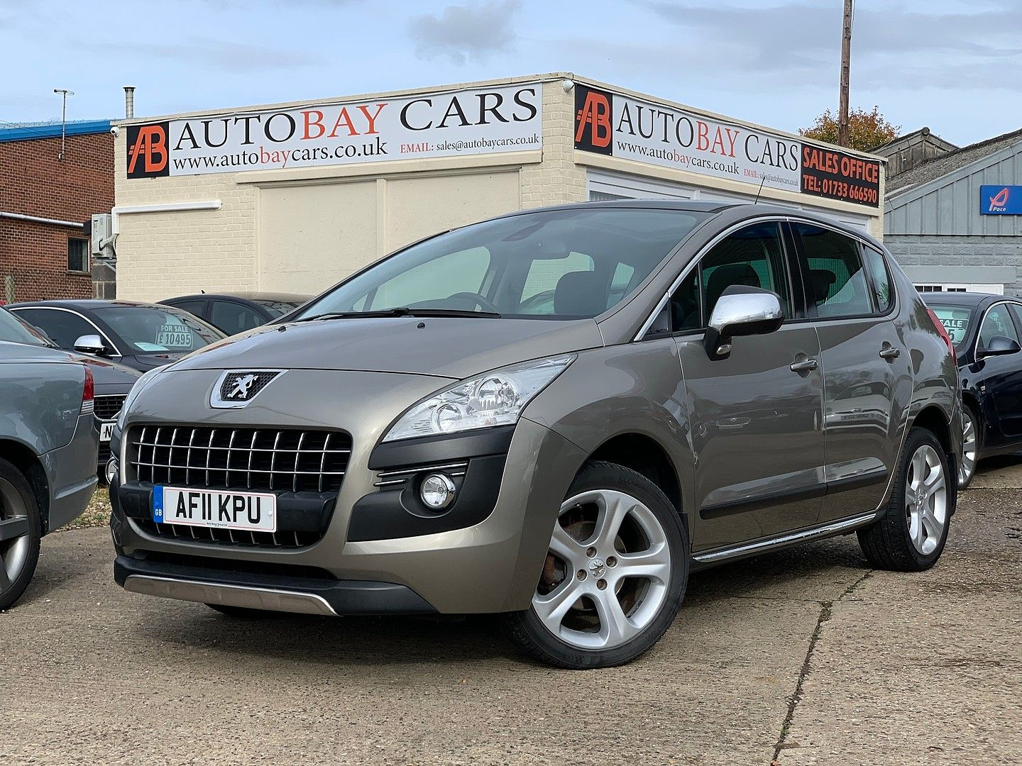 PEUGEOT3008Exclusive HDi 112 FAP EGC for sale