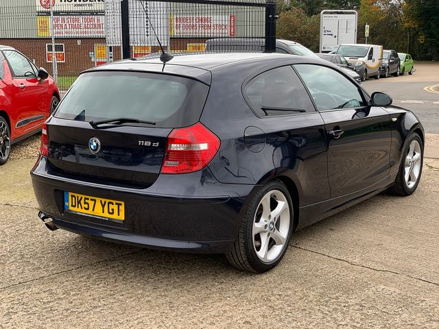 BMW 1 Series 118d SE (2007) for sale  in Peterborough, Cambridgeshire | Autobay Cars - Picture 3
