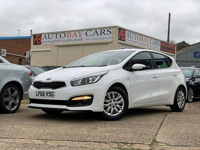KIA Cee'd 1.4 CRDi 89bhp 6-speed manual (2016) for sale  in Peterborough, Cambridgeshire | Autobay Cars - Picture 1