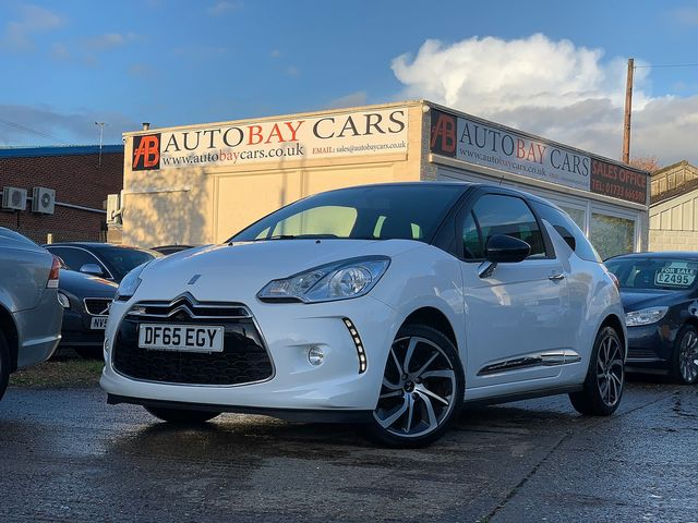 DS DS 3 DStyle Nav PureTech 110 S&S (2015) for sale  in Peterborough, Cambridgeshire | Autobay Cars - Picture 1