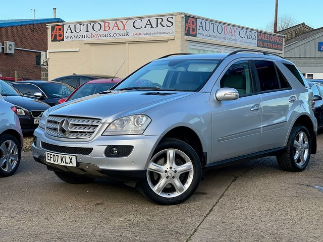 MERCEDES M-class ML 320 CDi Sport (2007) for sale  in Peterborough, Cambridgeshire | Autobay Cars - Picture 1