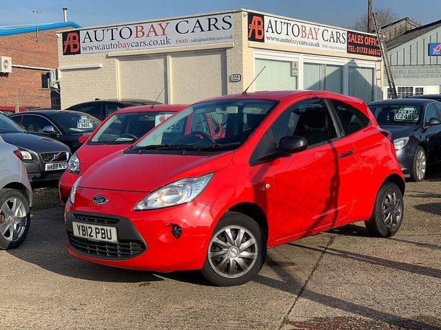 FORD Ka Studio 1.2 69PS (2012) for sale  in Peterborough, Cambridgeshire | Autobay Cars - Picture 1