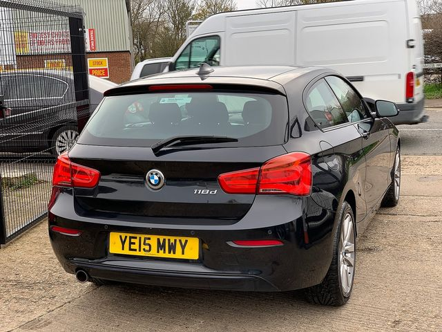 BMW 1 Series 118d Sport (2015) for sale  in Peterborough, Cambridgeshire   Autobay Cars - Picture 3