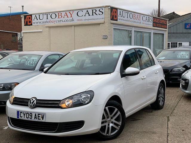 VOLKSWAGEN Golf SE TDI 2.0 110 PS (2009) for sale  in Peterborough, Cambridgeshire | Autobay Cars - Picture 1