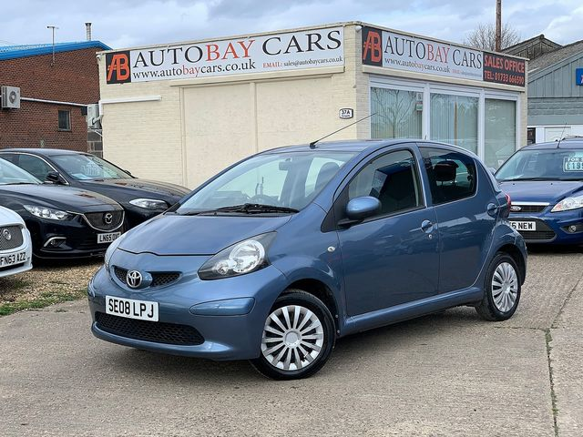 TOYOTA Aygo 1.0 VVT-i Blue (2008) for sale  in Peterborough, Cambridgeshire | Autobay Cars - Picture 1