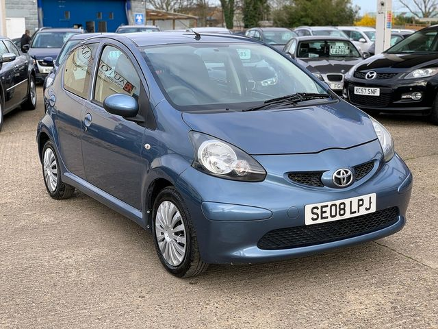 TOYOTA Aygo 1.0 VVT-i Blue (2008) for sale  in Peterborough, Cambridgeshire | Autobay Cars - Picture 2