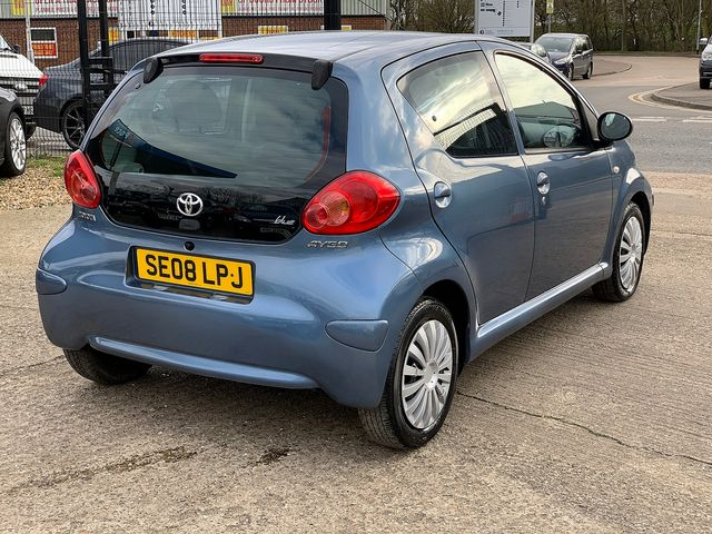 TOYOTA Aygo 1.0 VVT-i Blue (2008) for sale  in Peterborough, Cambridgeshire | Autobay Cars - Picture 3