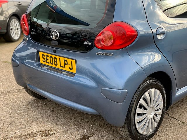 TOYOTA Aygo 1.0 VVT-i Blue (2008) for sale  in Peterborough, Cambridgeshire | Autobay Cars - Picture 6