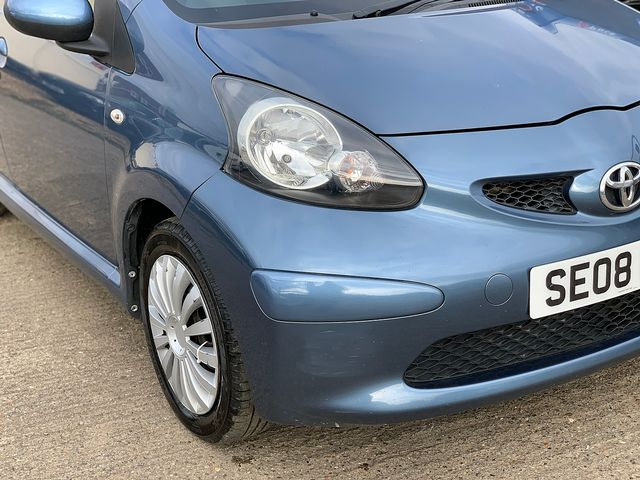 TOYOTA Aygo 1.0 VVT-i Blue (2008) for sale  in Peterborough, Cambridgeshire | Autobay Cars - Picture 7
