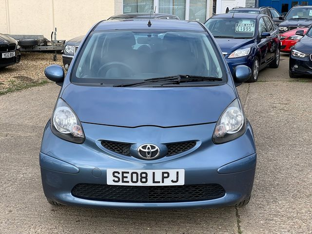 TOYOTA Aygo 1.0 VVT-i Blue (2008) for sale  in Peterborough, Cambridgeshire | Autobay Cars - Picture 9