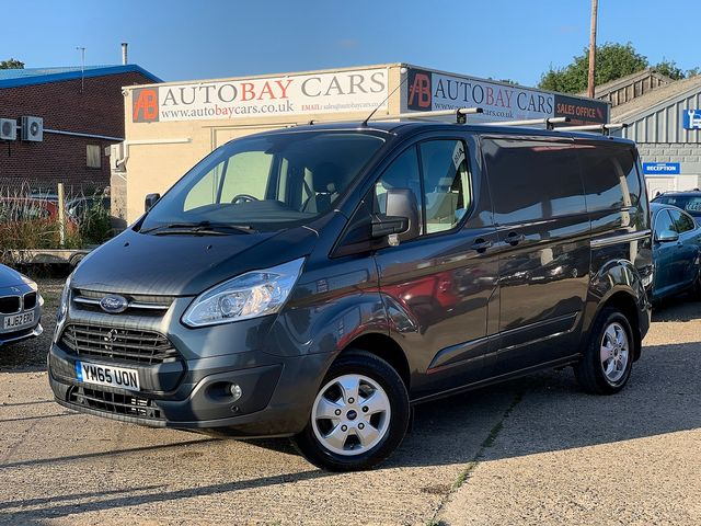 FORD Transit Custom 2.2TD 125PS 270 Limited FWD L1 (2016) for sale  in Peterborough, Cambridgeshire | Autobay Cars - Picture 1