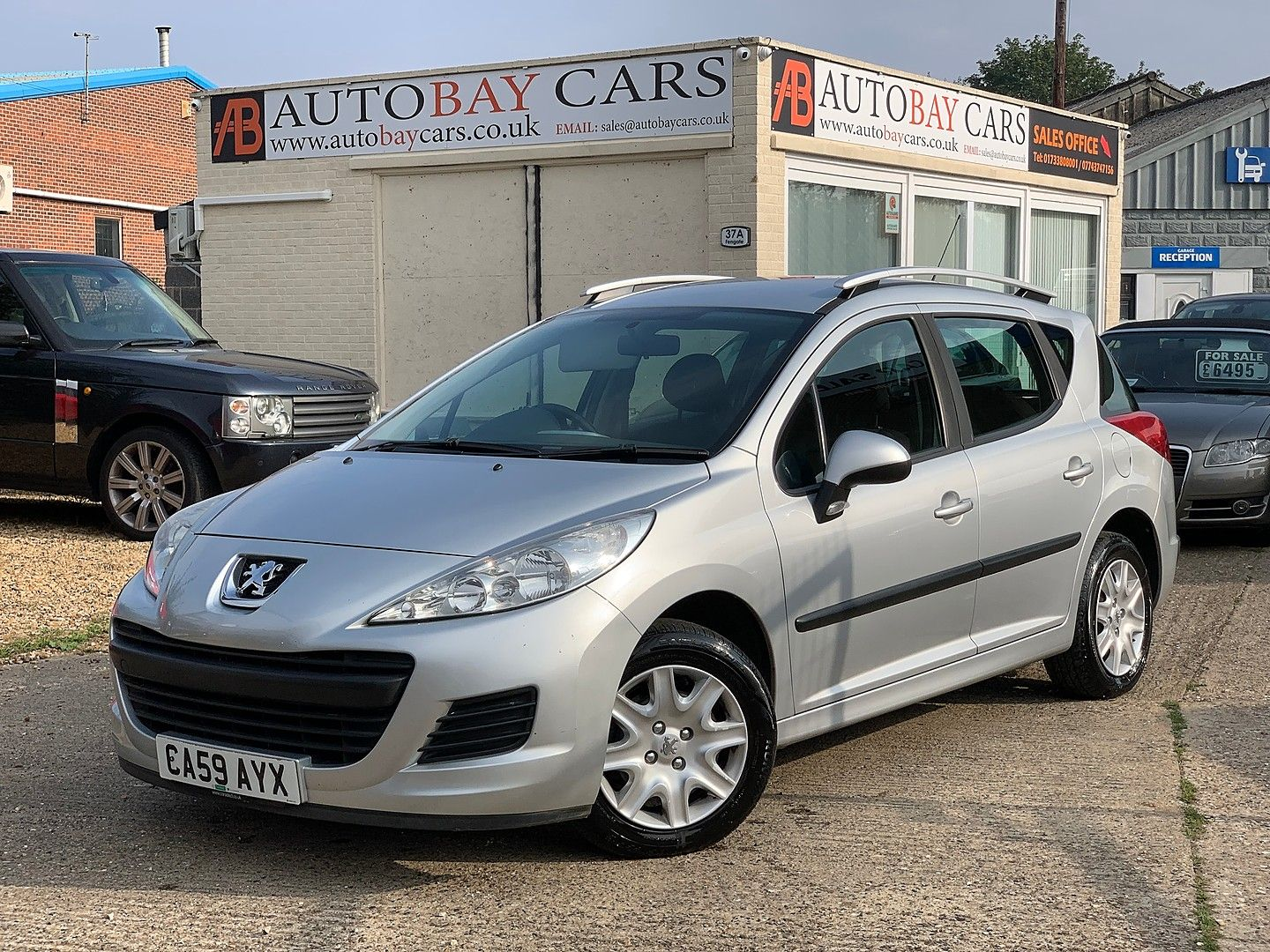 PEUGEOT207 SW1.6 HDi 90 S for sale